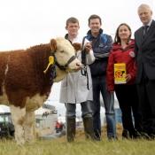 National Yearling Heifer 3rd 'Broomfield Belle'