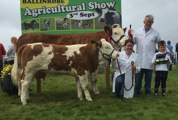 Ballinrobe 2017 Connacht Cow Champion 'Seepa Aster'