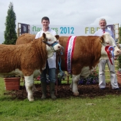 Fingal 2012 Champion 'Addinstown Willow Crystal Eyes'