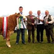 Bandon Overall Interbreed Champion 'Slieveroe Debbie'
