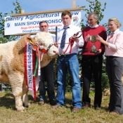 Bantry Show Overall Champion 'Castlegale Eric'