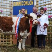 Bonniconlon National Simmental X Maiden Heifer McPadden