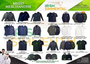 Irish Simmental Merchandise Advert Halfa4