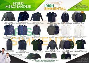 Irish Simmental Merchandise Advert Halfa4