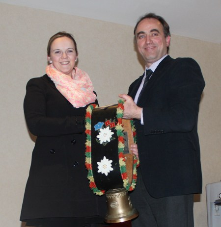 Catherine O'Connell Farrell 'Heather-View' Herd Winner of Austrian Bell for 2012
