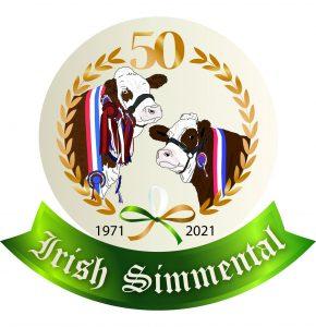 Irish Simmental logo colour